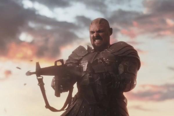 Thor ragnarok Skurge Guns