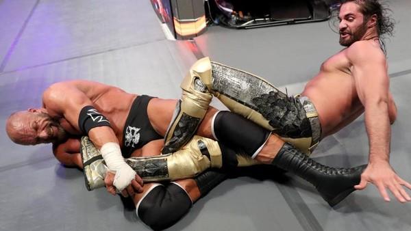 WrestleMania Seth Rollins Triple H