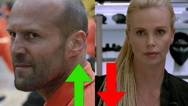 The Fate Of The Furious Jason Statham Charlize Theron