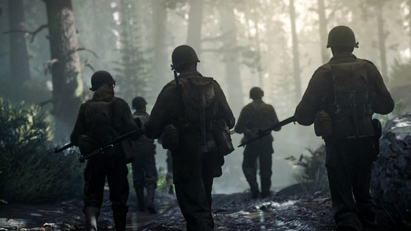 Call of Duty: WWII American Soldiers
