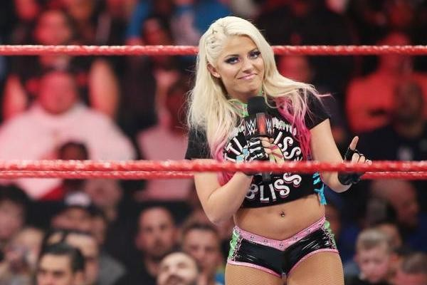 Alexa Bliss Raw