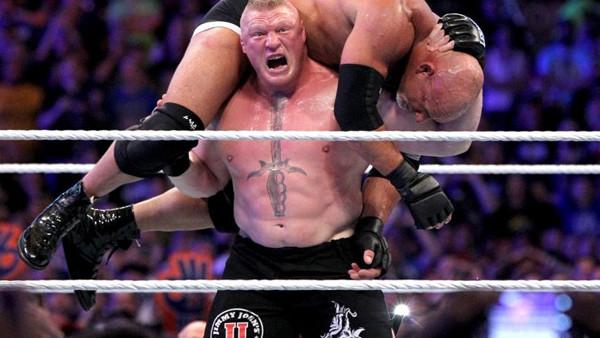 WWE WrestleMania 33 Brock Lesnar Goldberg