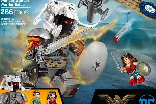 Wonder Woman: LEGO Set Suggests Villain Ares Is A Giant