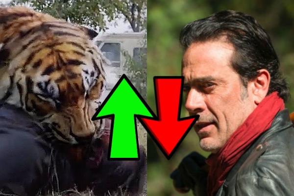 The Walking Dead Season 7 Finale Ups Downs