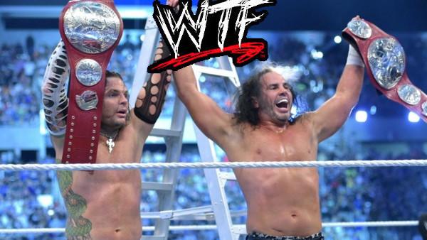 WWE WrestleMania 33 The Hardy Boyz