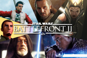 Star Wars Battlefront 2 Characters Heroes