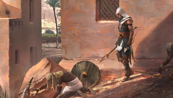 Assassins Creed Origins Concept Art Evan Liu