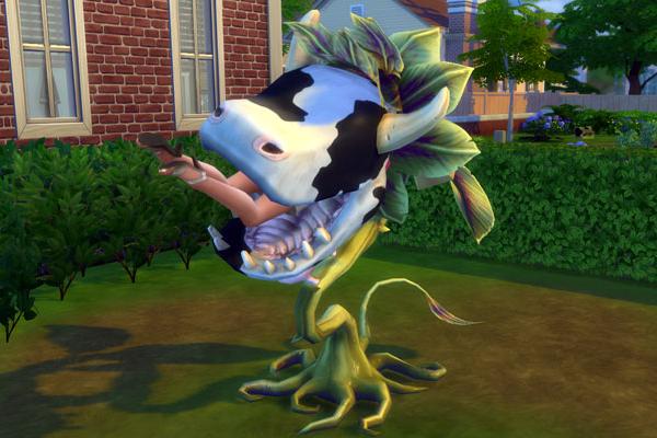 The Sims Cowplant