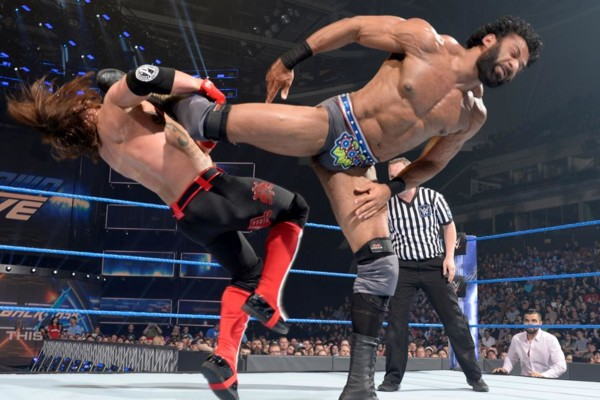 AJ Styles Jinder Mahal