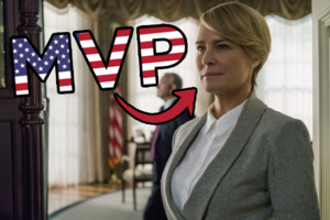 House Of Cards Season 5 Claire MVP