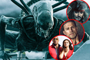 Alien Covenant Baywatch King Arthur Legend Of The Sword Pirates Of The Caribbean Dead Men Tell No Tales
