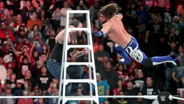 AJ Styles Dean Ambrose
