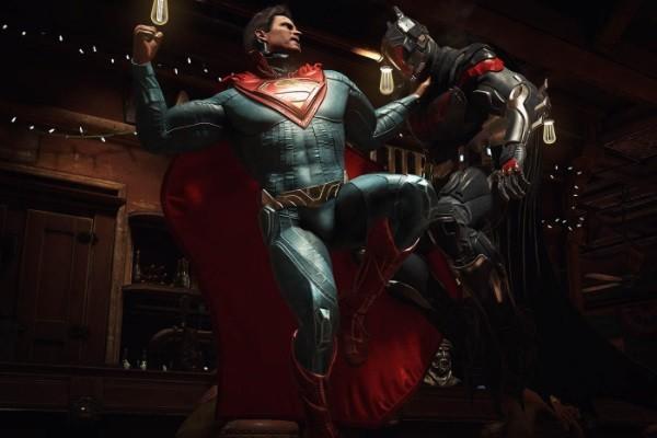 Injustice 2 Batman Superman
