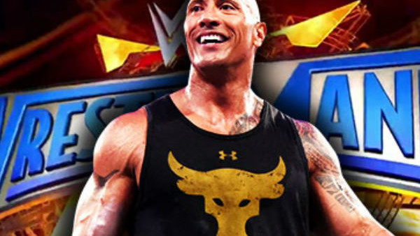 The Rock Wrestlemania 33