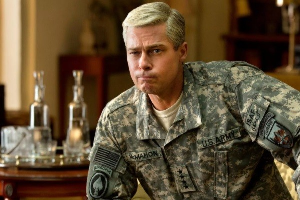 War Machine Brad Pitt
