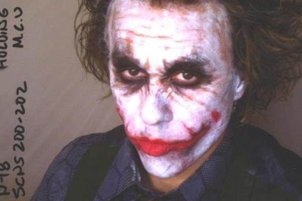 The Joker Makeup Test