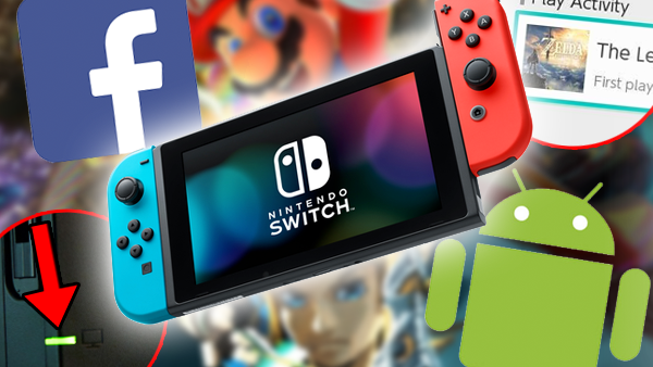Nintendo Switch Console Features