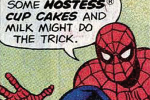 Spider Man Hostess