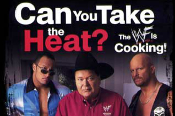 WWF Cookbook Jim Ross The Rock Steve Austin