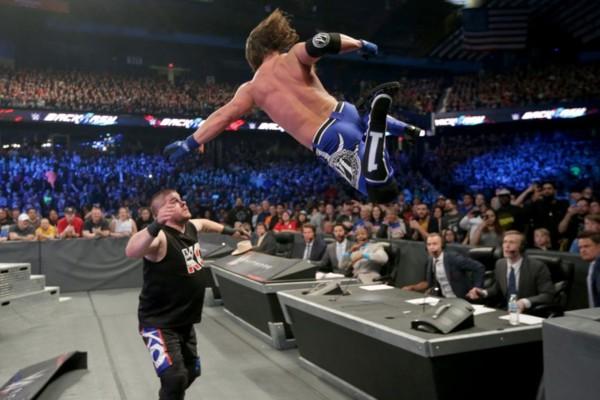 AJ Styles Kevin Owens