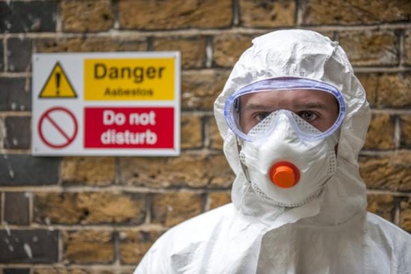 asbesto warning