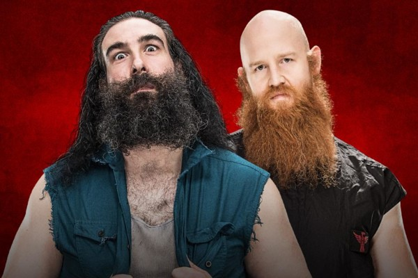Image result for erick rowan vs lukeharper backlash