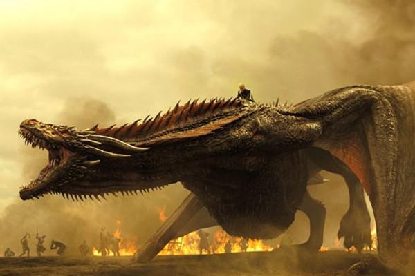 Game of Thrones Daenerys Drogon