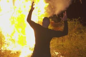 Randy Orton Bray Wyatt Fire Utter Wanker