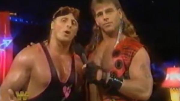 Kurt Angle Owen Hart