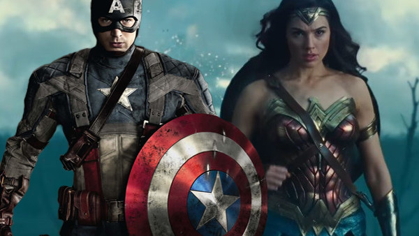 Wonder Woman Captain America