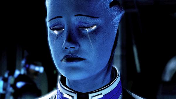Mass Effect Liara Sad Cry