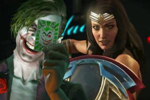 Injustice 2 Joker Wonder Woman