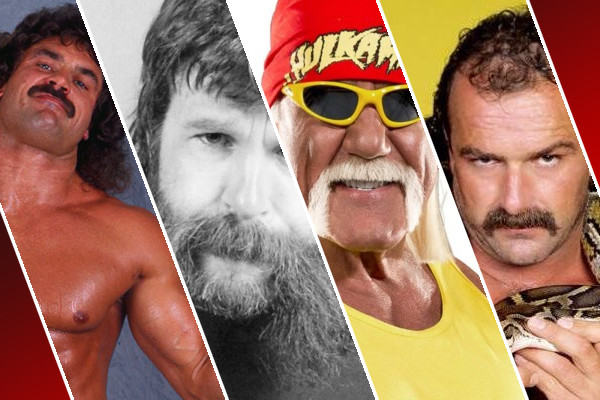WWE Mustaches