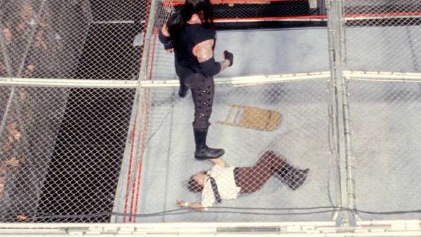 The Undertaker Mankind Hell In A Cell