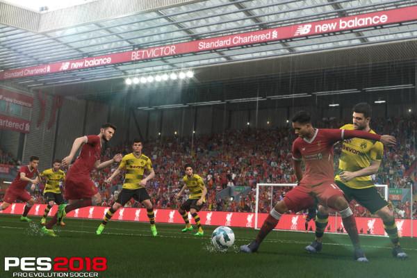 PES 2018 Liverpool Borussia Dortmund