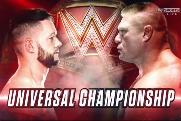 Finn Balor Vs Brock Lesnar WWE Universal Championship Match
