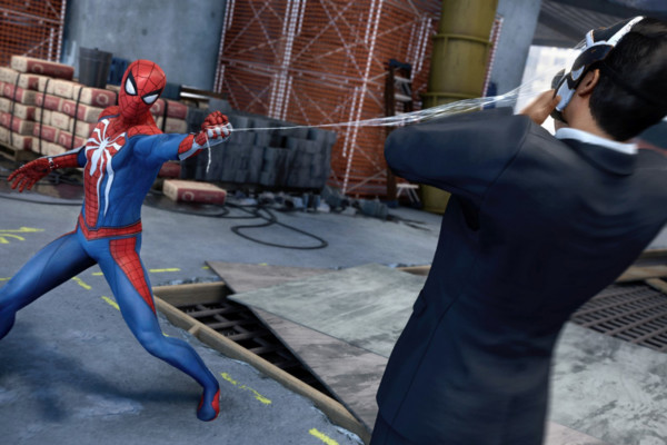 Spider Man PS4 Combat