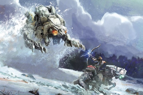 Resultado de imagen de Horizon Zero Dawn:  The Frozen Wilds