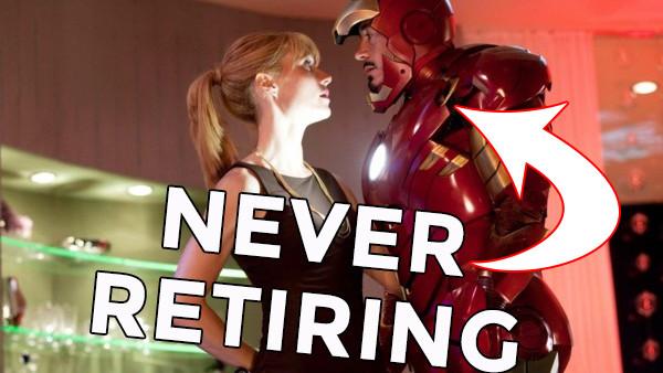 Iron Man Retiring
