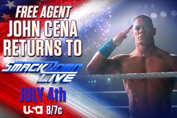 John Cena returns to SmackDown Live