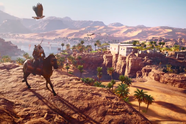 Assassin's Creed Origins Gameplay Footage Revealed