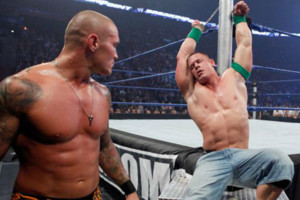 Randy Orton John Cena