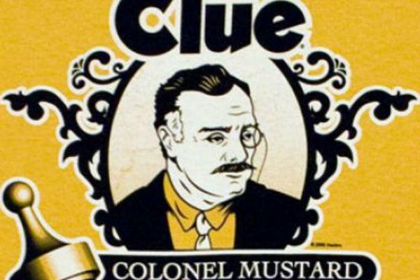 Clue Colonel Mustard