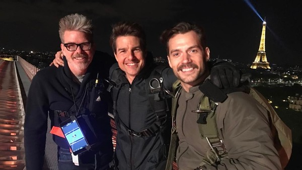 Mission Impossible 6 Tom Cruise Henry Cavill Christopher Mcquarrie