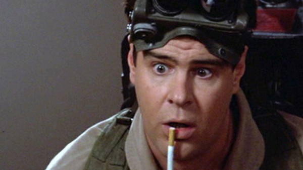 Image result for dan aykroyd ghostbusters cigarette