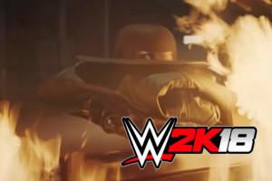 WWE 2K18 Undertaker Fire