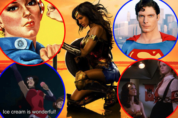 Wonder Woman Easter Eggs