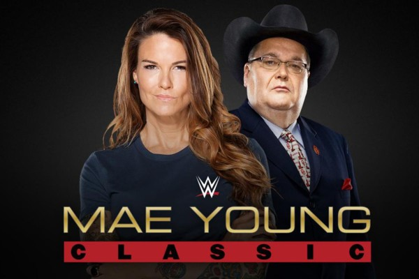 Jim Ross & Lita Doing Commentary For The Mae Young Classic