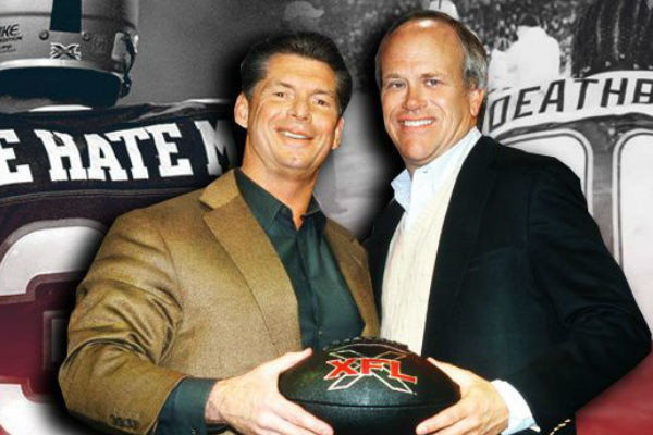 Vince McMahon Possibly Relaunching the XFL w/ New Entity
