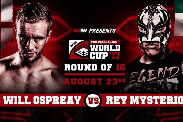 Will Ospreay Rey Mysterio